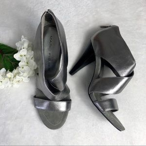Marc Fisher Pewter Heels